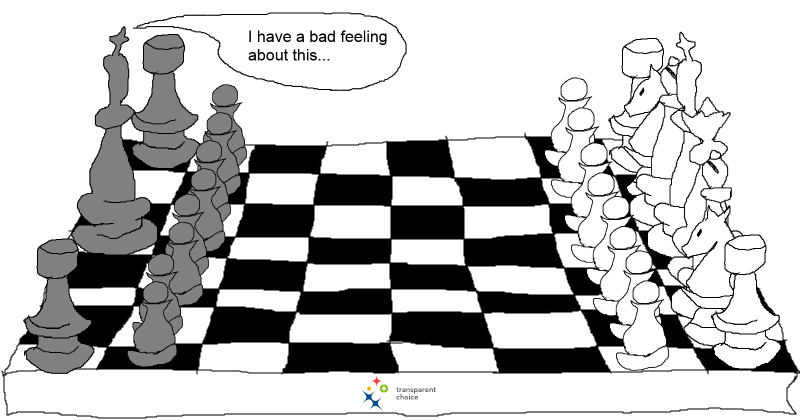 Missing Project Selection Criteria Like Chess With Missing Pieces