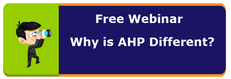 Why AHP is different